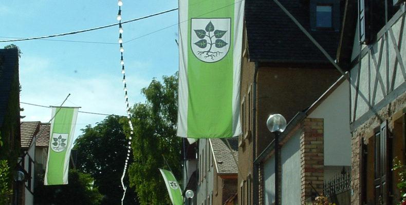 Lörzweiler Flagge ©Andreas Dörrschuck
