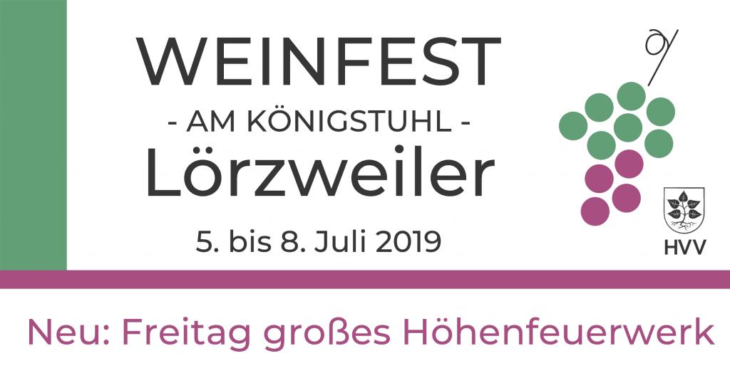 Weinfestbanner 2019